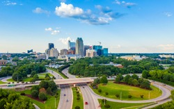 Aerial Photography From Raleigh & Cary NC