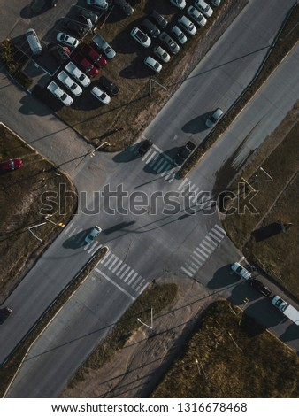 Aerial Photography industrial #1316678468