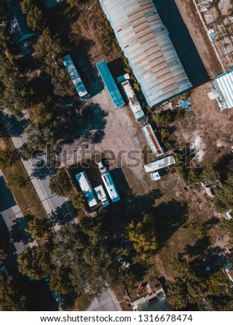 Aerial Photography industrial #1316678474