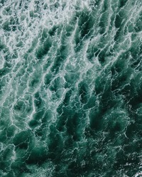 Aerial photography ocean swell sea ripple water nature waves detail texture background wallpaper