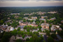 Aerial Photography of Williamsburg Virginia