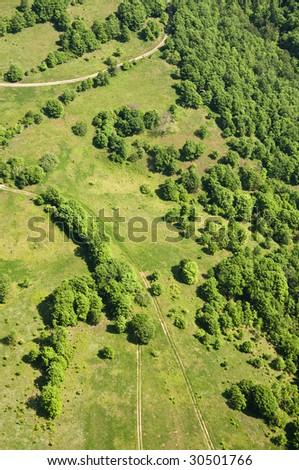 Aerial Photography.Strandja mountain,Bulgaria