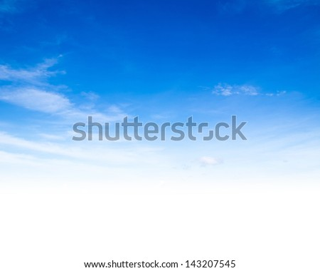 Aerial sky and clouds background #143207545