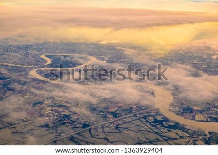 aerial sky photograph