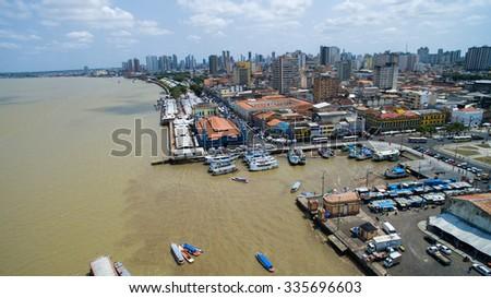 Aerial View of Belem do Para, Brazil Foto stock ©