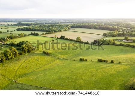 aerial view of buckinghamshire...