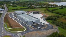 Aerial View of Ennis Industrial Estate, Co. Clare, Ireland
