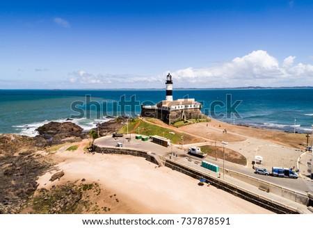 Shutterstock Aerial View of Farrol da Barra in Salvador, Bahia, Brazil