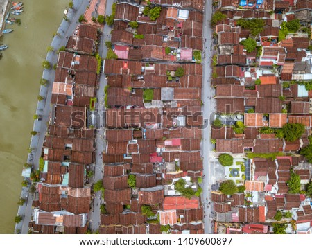 Aerial view of Hoi An Ancient Town