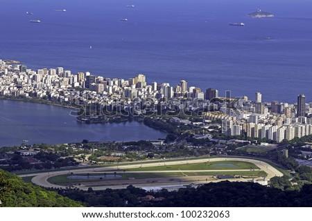 Aerial View of Ipanema Beach in Rio de Janeiro