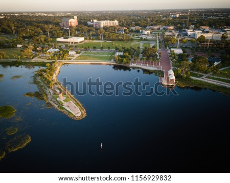 Aerial View of kissimmee Florida #1156929832