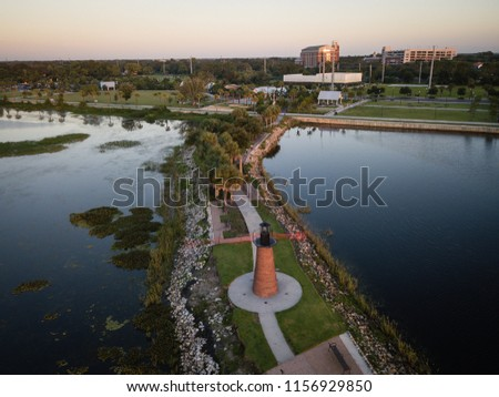 Aerial View of kissimmee Florida #1156929850