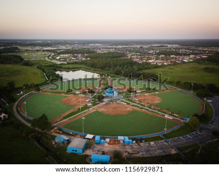 Aerial View of kissimmee Florida #1156929871