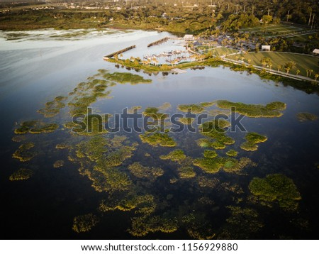 Aerial View of kissimmee Florida #1156929880