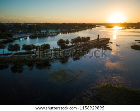 Aerial View of kissimmee Florida #1156929895