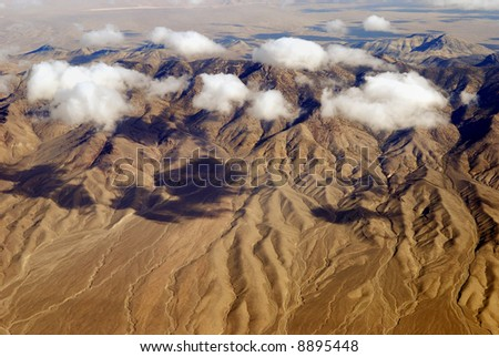 Aerial View of Red Rock Canyon near Las Vegas