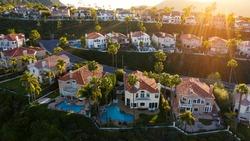Aerial view of South Orange County's Laguna Niguel, California.