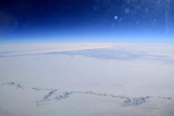 Aerial View of the Aral Sea in Kazakhstan