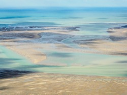 aerial view of the Baie de Somme