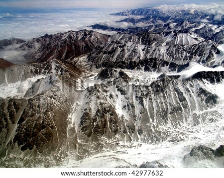 tien shan mountains. of Tien Shan mountains