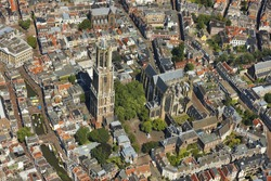 Aerial view of Utrecht
