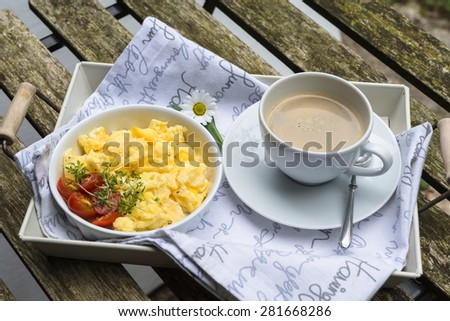 stock-photo-aerial-view-tasty-fresh-scrambled-eggs-on-plate-wooden-background-breakfast-omelet-eggs-with-red-281668286.jpg