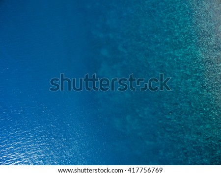 Aerial  water view  #417756769