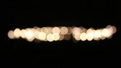 Aesthetic blur light photo. Tumblr lamp photo