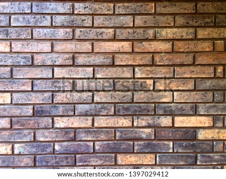 Aesthetic brick wall, romantic and rustic atmosphere. #1397029412