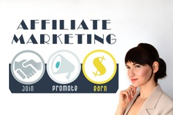 Affiliate marketing. Join, promote, earn.