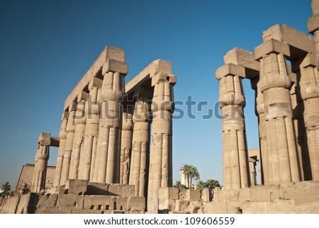Africa, Egypt, Luxor, Amun Temple of Luxor