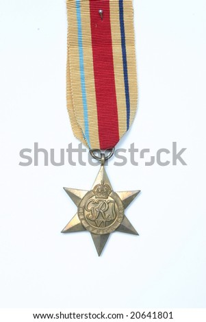 Africa Star Campaign Medal