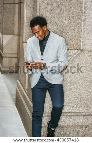 35b3659c050 African American Businessman Semi… Stock Photo 447129271 - Avopix.com