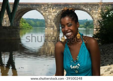 African American feeling good