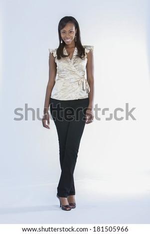 African-American Female Model Fashion