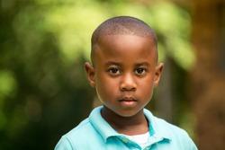 African American Little Boy