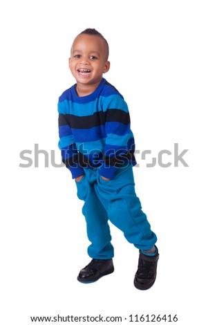african american little boy portrait