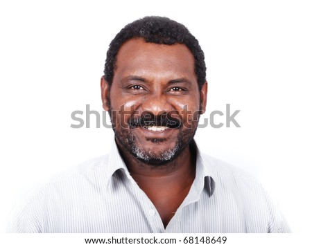 African American man portrait