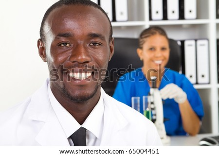 african american medical researchers in lab