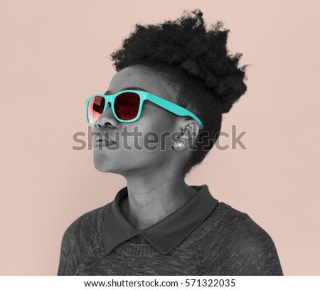 African Descent Female Sunglasses Cool #571322035