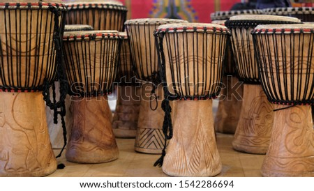 African drumming - lots of drums together