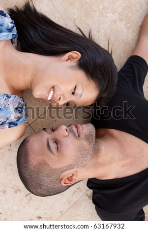 african man and asian woman lover