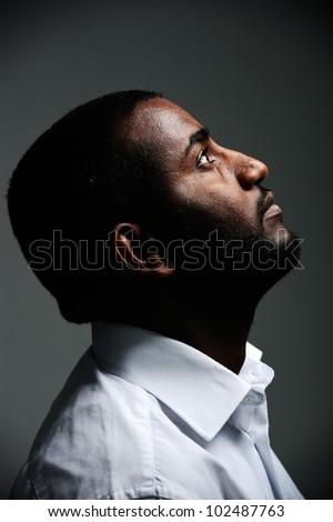 African man, nice photo
