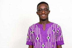 African man wearing traditional clothes