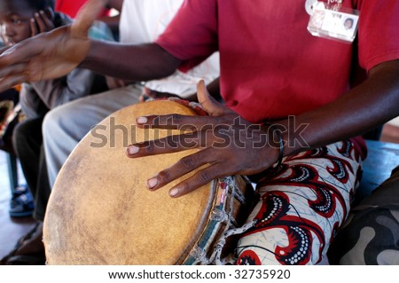 African percussion sounds