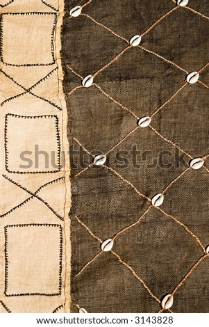 African textile material hessian, design elements, vintage craft, background,