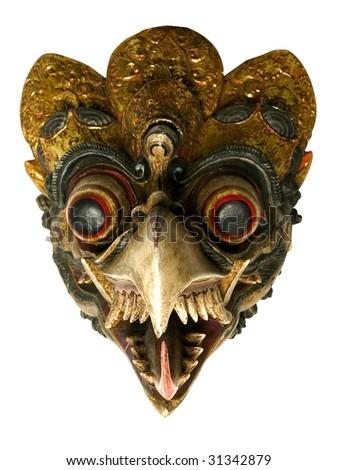 african bird masks