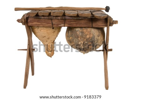 African xylophone stock photo. Image of songs, traditional ...  |African Wooden Xylophone