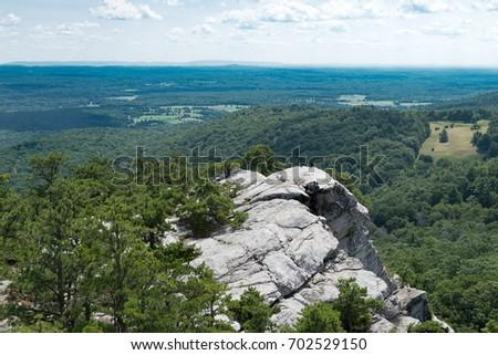 After a short climb up a rock scramble, enjoy the