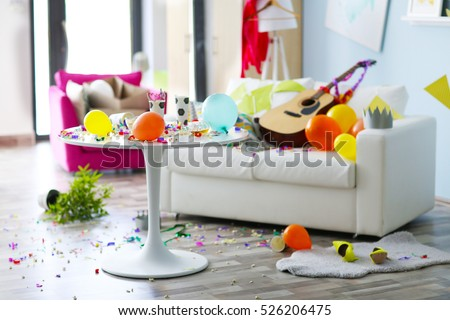 After party interior chaos #526206475